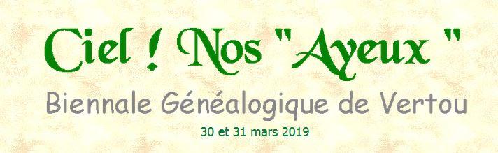 L'Association généalogique vertavienne (44) organise sa 7e biennale généalogique