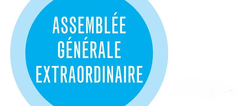 Assemblée générale extraordinaire – 25 septembre 2021