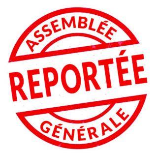 Assemblées générales du CGF reportées