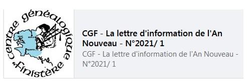 Les lettres d'info du CGF